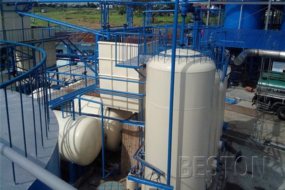 Auto Continuously Operating Distillation Plant