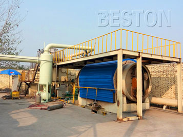 Batch Pyrolysis Plant