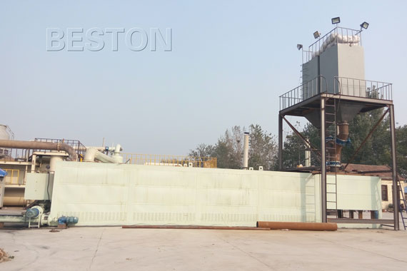 Continuous Plastic Recycling Plant