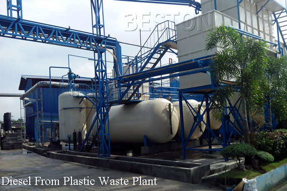 Diesel From Plastic Waste