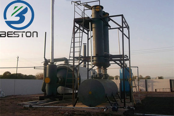 Pyrolysis Oil From Plastic Waste