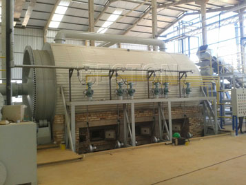 Semi-Continuous Pyrolysis Plant