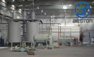 Tyre Recycling Plant Cost