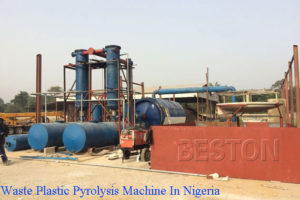 Waste Plastic Pyrolysis Machine