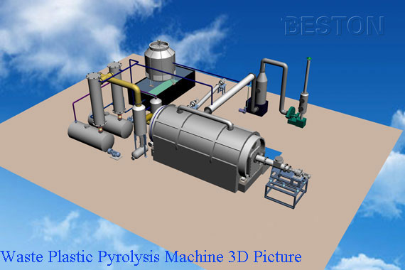 plastic waste pyrolysis machine