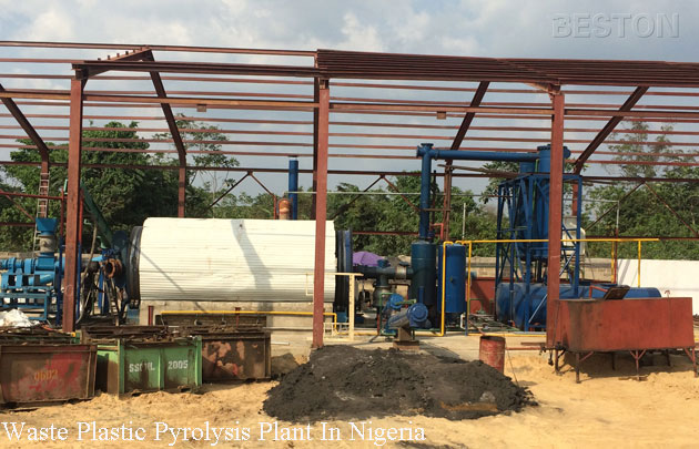 Waste Plastic Pyrolysis Plant In Nigeria