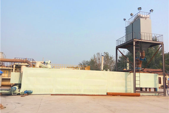 Pyrolysis Plant of Plastic