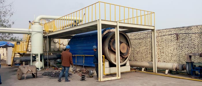 Waste Tyre Pyrolysis Plant Project
