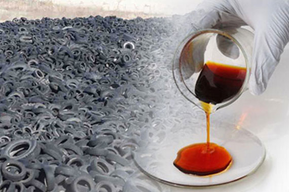 Waste Tyre to Oil
