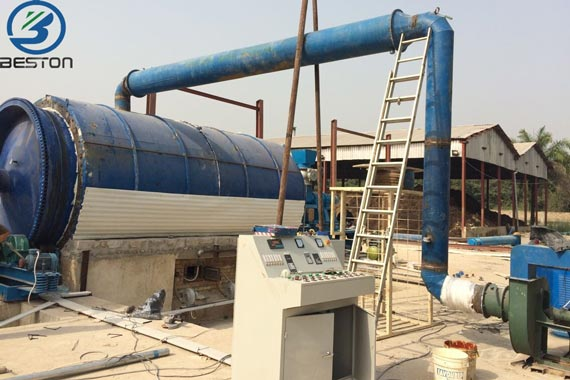 Our Pyrolysis Plant Was Successfully Installed In Nigeria