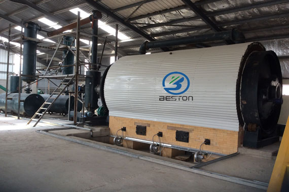 Tire pyrolysis plant was successfully installed in Jordan