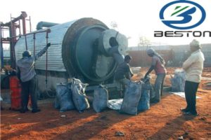 Tyre Recycling Process