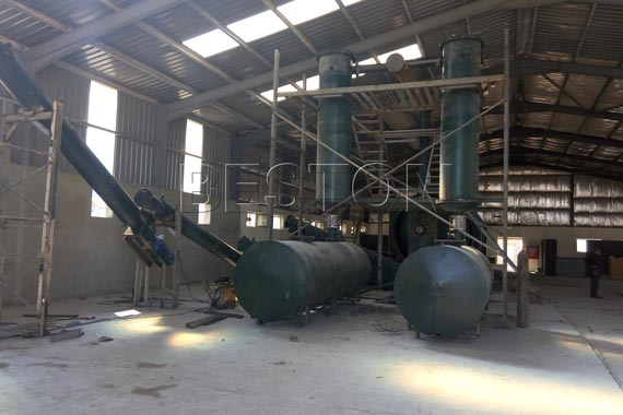 tyre pyrolysis plant suppliers