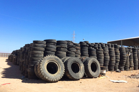 Tyre recycling shows benefits