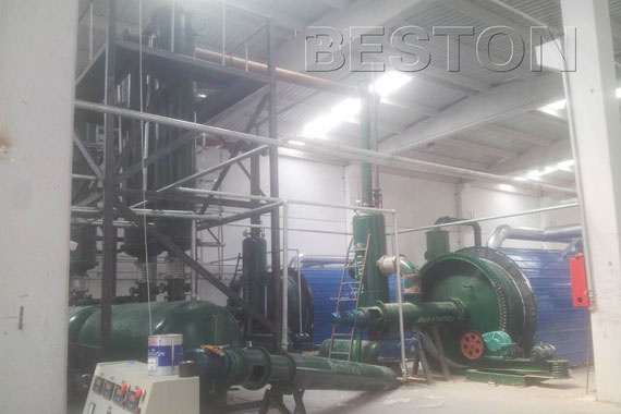 Beston tyre pyrolysis plants