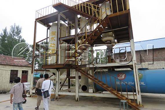 Senegalese Customers Visit Beston Pyrolysis Plant
