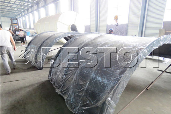 Delivery of Waste Pyrolysis Plant