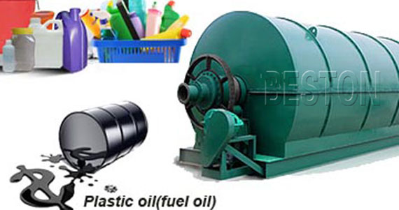 Waste Plastic to Oil Recycling