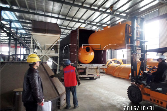 10TD Plastic to Diesel Plant Exported to Indonesia