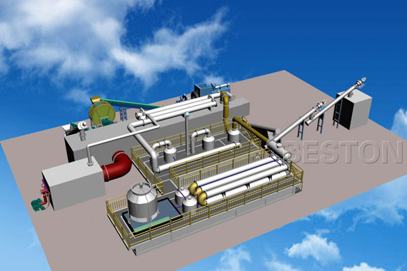 Beston continuous pyrolysis plant