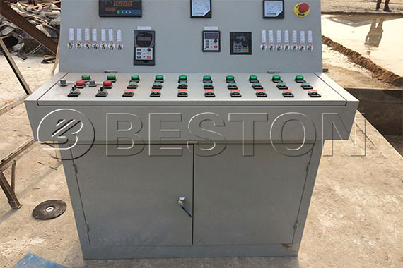 Automatic PLC Control System of Waste Tyre Pyrolysis Oil Plant