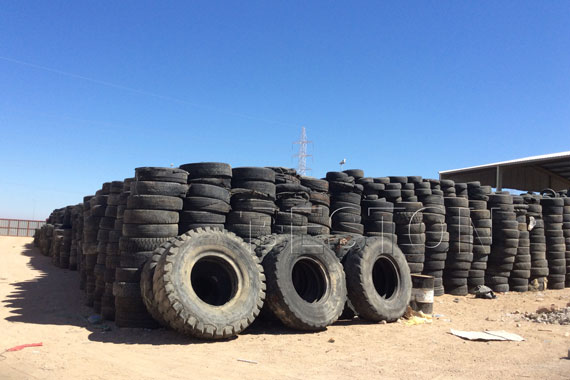Recycle Waste Tires