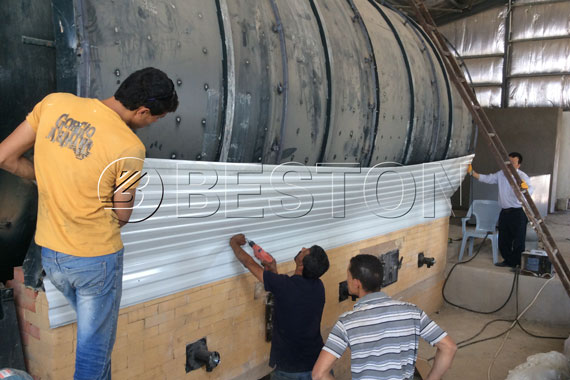 Beston Pyrolysis Plants in Jordan
