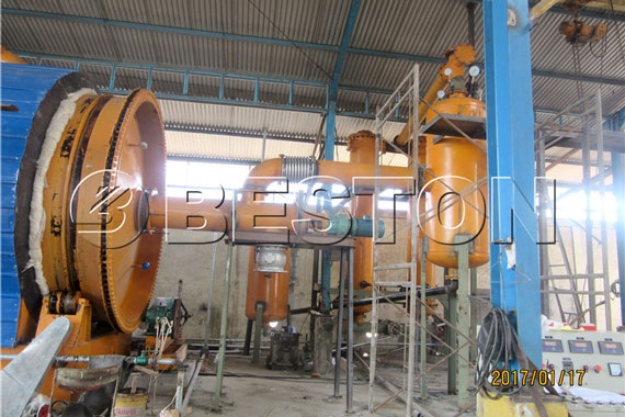 Beston Pyrolysis Machine for Waste