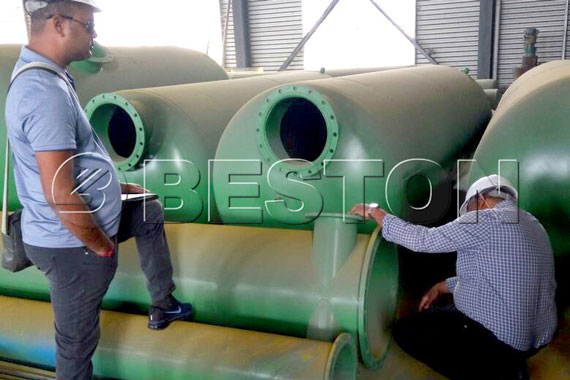 Suriname Clients Came to Beston Group for Buying Plastic to Diesel Plant