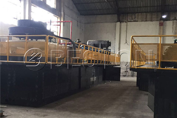 Fully Continuous Pyrolysis Plant for Sale