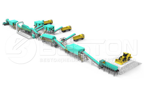 Garbage Recycling Sorting Machine