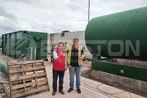 Pyrolysis Plant in the UK