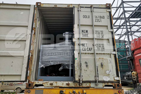 Small Paper Egg Tray Machine Shipped to Ghana